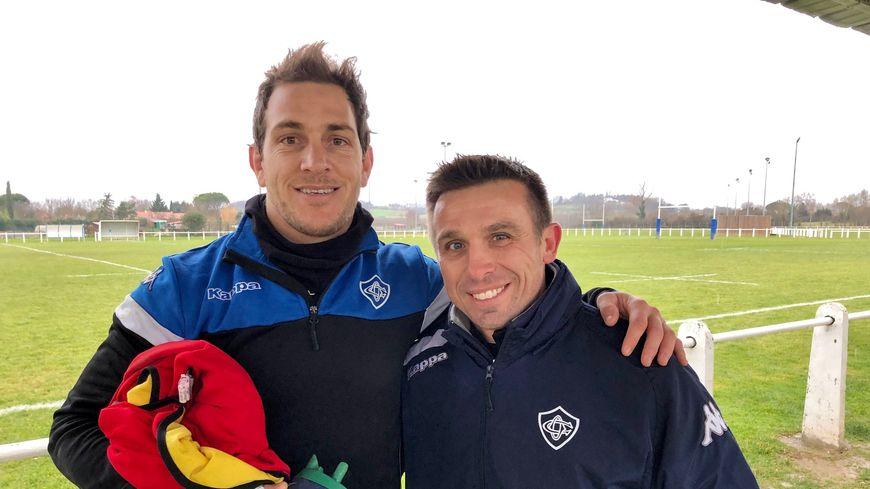 Benjamin Urdapilleta et Romain Teulet.