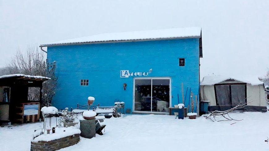 L'Atelier Bleu à Fontaine en Puisaye
