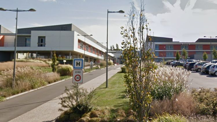 L'hôpital et la maternité du CH Nord-Mayenne