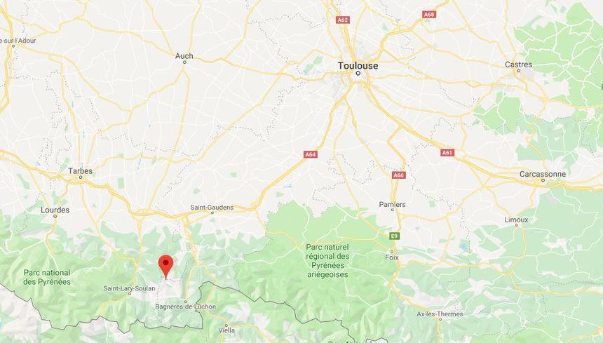 Le village de Bourg d'Oueil se situe en Haute-Garonne.