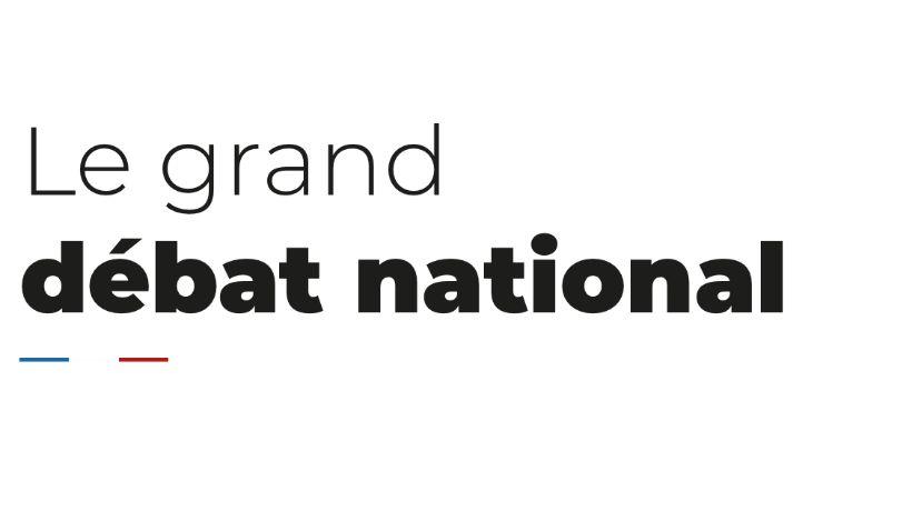 le site du grand débat national