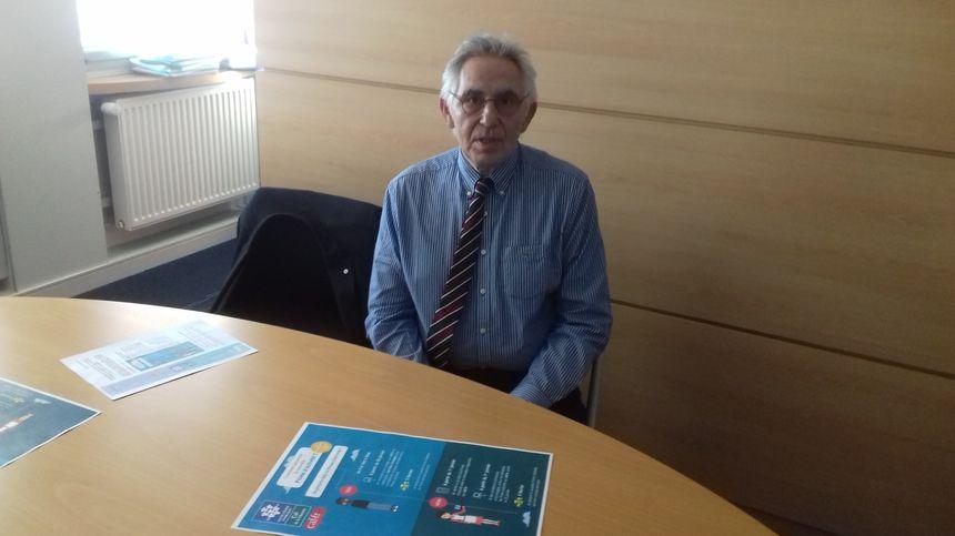 Le directeur de la CAF de la Charente, Philippe ARNOULD