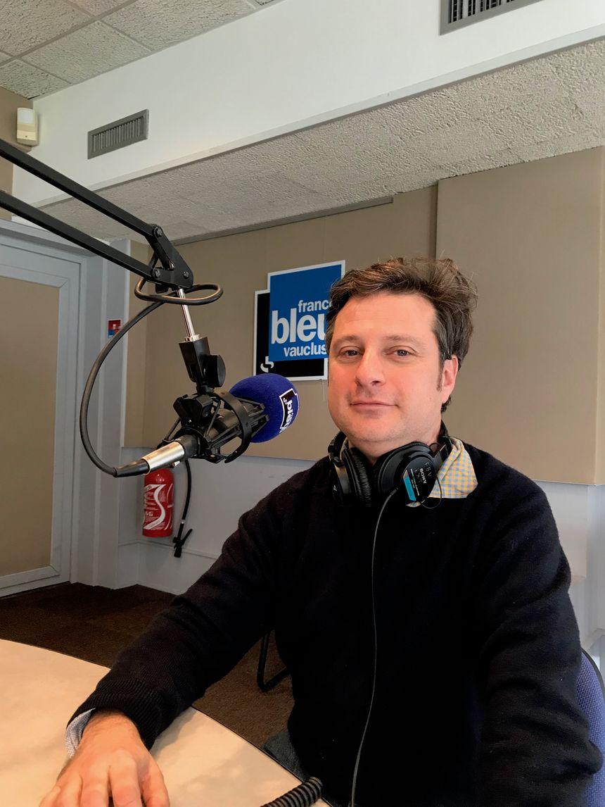 Matthieu Poitavin, professeur de provençal.