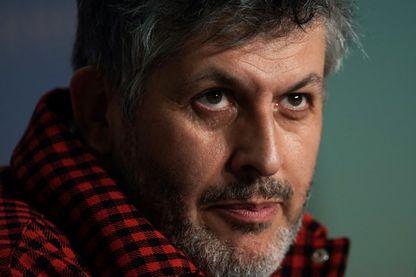 L'écrivain, réalisateur, scénariste, dramaturge et metteur en scène, Christophe Honoré  à la 71ème édition du Festival de Cannes le 11 mai 2018