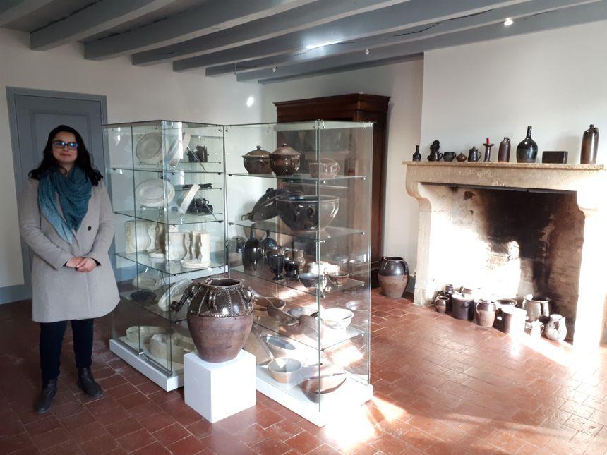 Coralie Aidoud responsable du musée de la poterie des Archers