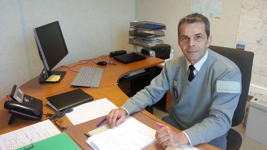 Patrice Von Bosterhaudt, chef de l'agence française pour la biodiversité du Cher