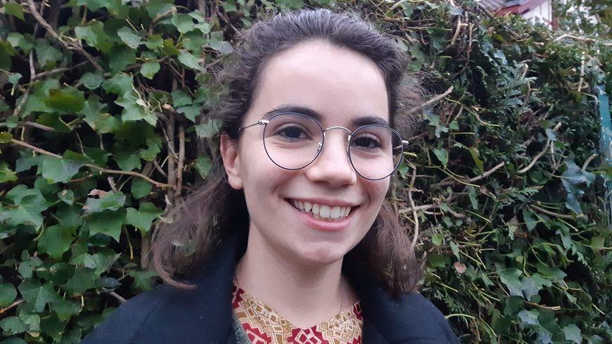 Madeleine Prunel est parmi les 14 jeunes qui participent ce 25 janvier à la finale nationale du concours de plaidoiries des lycéens, à Caen