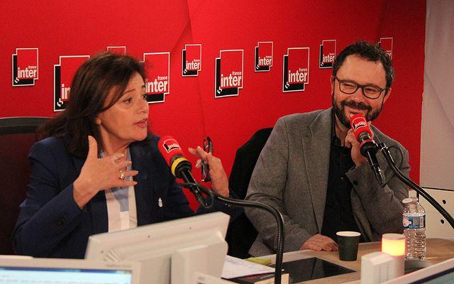Eva Bettan et Riad Sattouf, président du jury du prix du Livre Inter