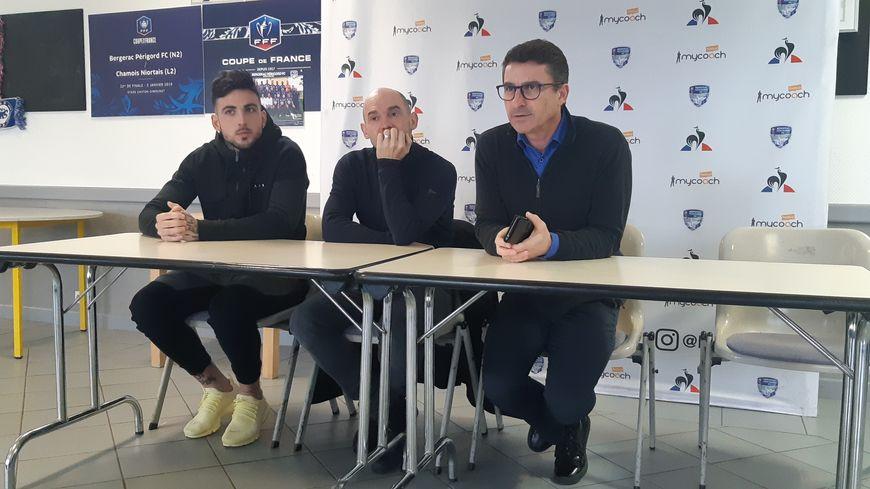 De gauche à droite : Anthony Loustallot, Nicolas Le Bellec et Paul Maso.