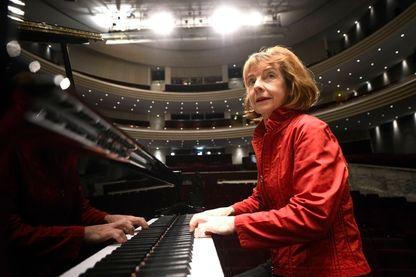 Anne Queffélec lors des Folles Journées de Nantes en 2014