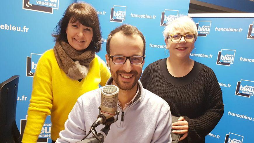 Christine Mathieu, Hugues de Jerphanion et Brigitte Franza