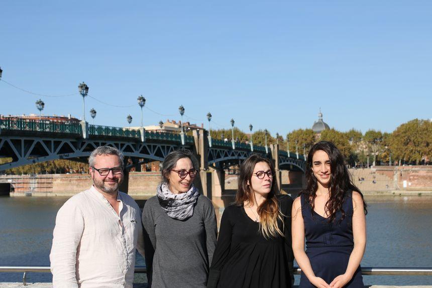 Florent Salinié, Nathalie Gavrilovitch, Margaux Duffour et Marie Huré