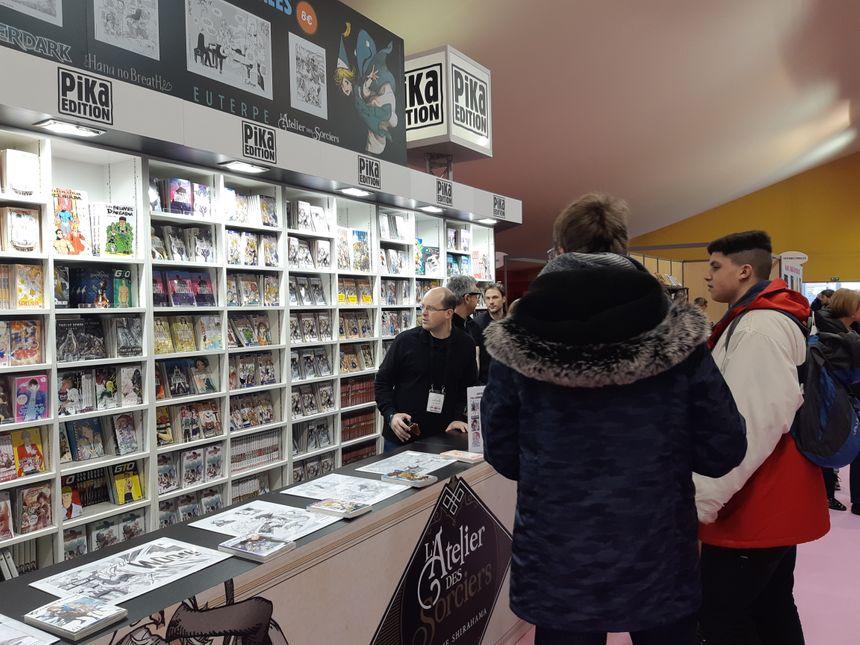Les éditeurs de mangas sont à Angoulême pour conquérir un nouveau public, plus sensible à la BD de tradition franco-belge. C'est le cas pour Pika, filiale de Hachette.