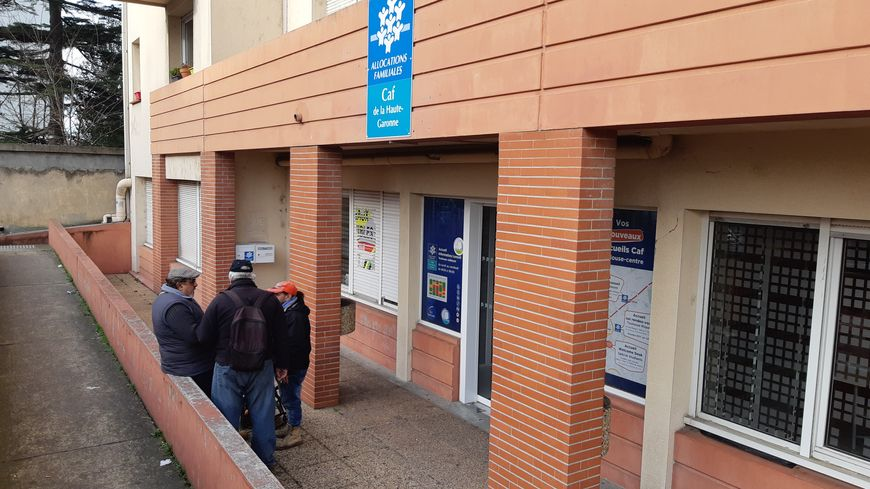 La CAF de Jolimont, à Toulouse (Haute-Garonne).
