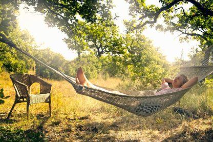 Dormir dans un hamac...