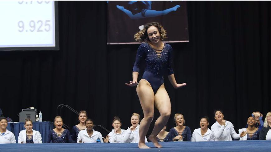 Katelyn Ohashi, la gymnaste américaine a obtenu la note de 10 au sol