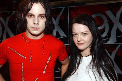 The White Stripes (Jack et Meg White) à Atlanta, le 20 juin 2003.