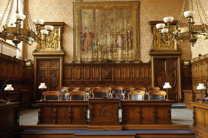 Au palais de justice de Paris