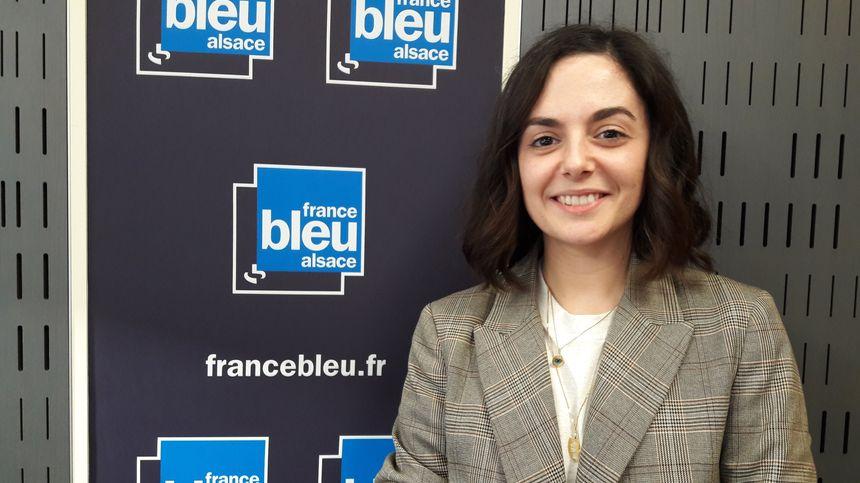 Joy Fleutot est une jeune Alsacienne d'adoption, qui lance un projet de boutique unisexe pour enfants.