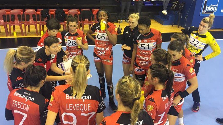 Raphaëlle Tervel remobilise ses joueuses! L'ESBF peut encore espérer arracher sa qualification en ¼ de finale de la Coupe EHF, malgré sa défaite chez les Norvégiennes de Larvik (26 janvier 2018) en Phase de Groupes
