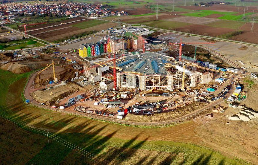 Le chantier de Rulantica, le parc aquatique, qui doit ouvrir fin  2019 est bien entammé