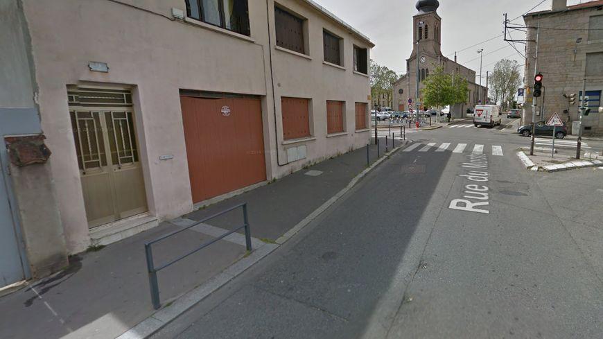 L'homme a été abattu rue du Monteil à Saint-Etienne