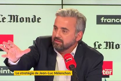Alexis Corbière au micro d'Ali Baddou