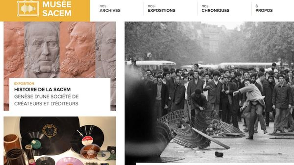 Musée numérique de la Sacem : dix expositions en 2019