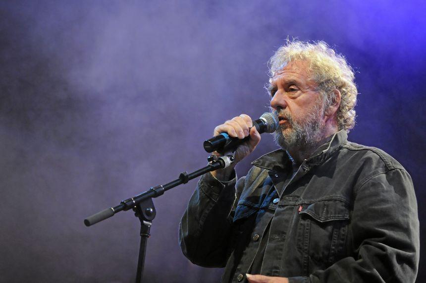 Gilles Servat en concert à Rodez, le 30 juillet 2011