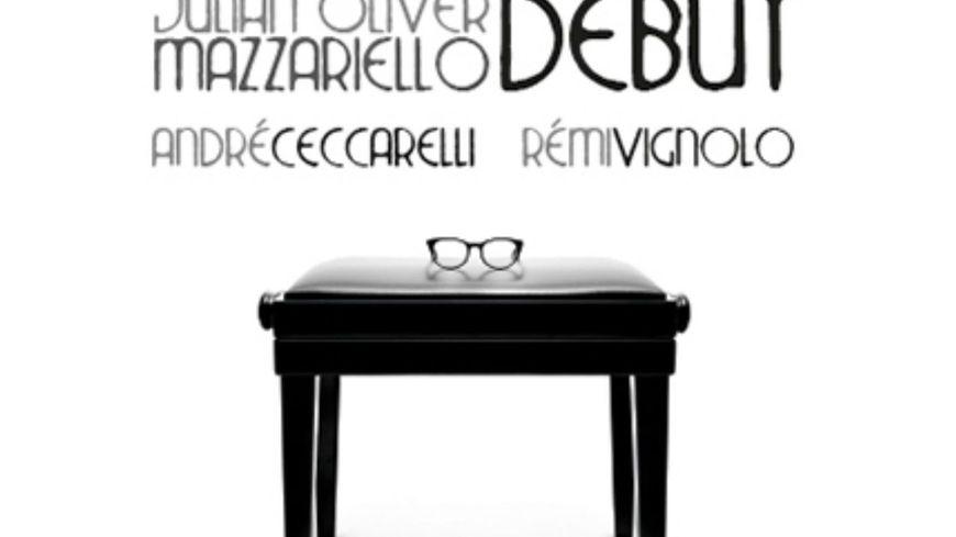 "Julian Oliver Mazzariello, André Ceccarelli, Rémi Vignolo, ""Modal Blues"", cd ""Debut"", Via Veneto"