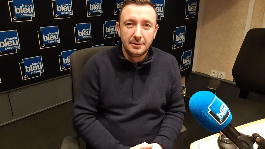 Jean-Jacques Noël, secrétaire départemental du Rassemblement national dans la Manche.
