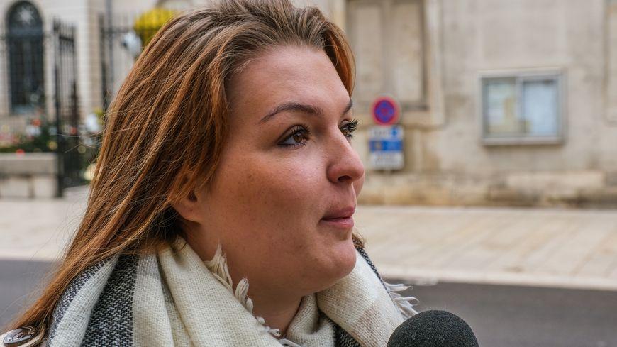 Céline Roy, Céline Roy, l'ancienne porte-parole des gilets jaunes de Vesoul est interrogée dans les locaux du commissariat de Vesoul