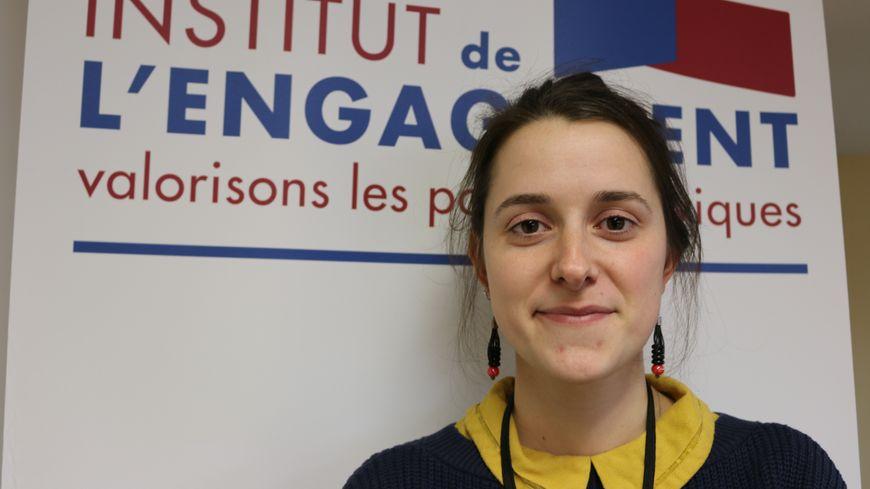 Brianne Parquier, lauréate de l'Institut de l'engagement.
