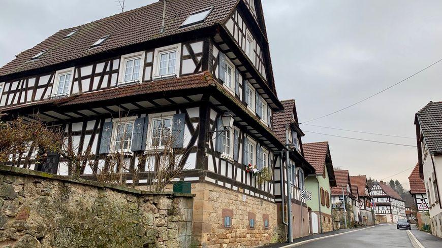 Drachelbronn-Birlenbach, colombages il y a