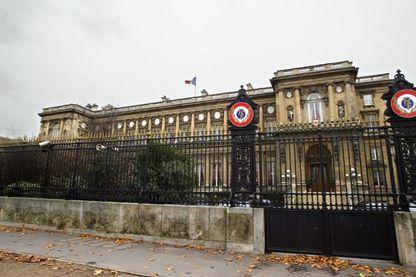 Le ministère des Affaires étrangères, Quai d'Orsay à Paris
