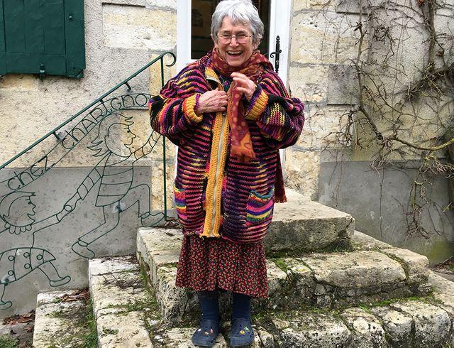 Bernadette Després, la dessinatrice de Tom-Tom et Nana en janvier 2019 chez elle
