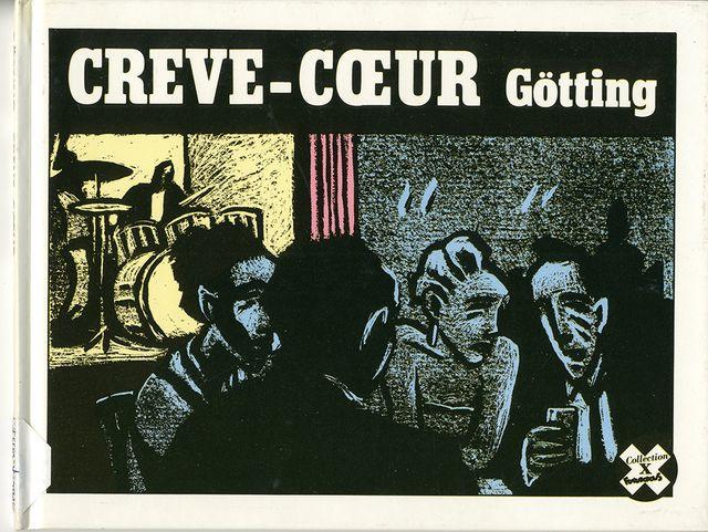 """Exemple d'ouvrage publié par Futuropolis avec """"Crève-coeur"""" de Gotting en 1985"""