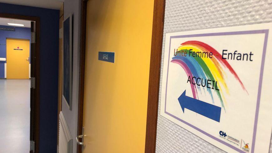 Un étage du centre hospitalier du Blanc est consacré à cette unité femme-enfant