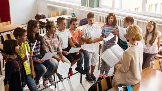 Le plan chorale à l'école a été lancé en septembre 2018