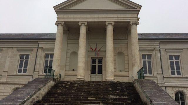 Le Palais de justice de Châteauroux dans l'Indre.