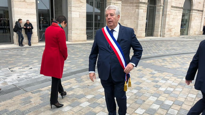 Jean-Louis Fousseret, le maire de Besançon, en novembre 2017.