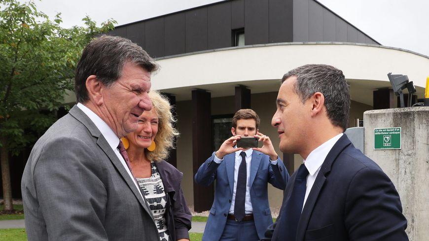 Le maire de Truchtersheim Justin Vogel (ici à gauche) préside le nouveau groupe Alsace et Territoires à la Région Grand Est