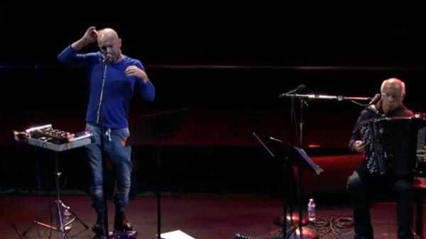 Improvisation du duo Merleau Ponty (Hélène Breschand et Kerwin Rolland)