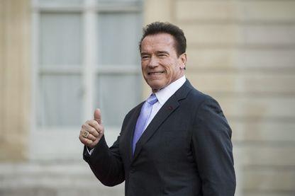 Arnold Schwarzenegger, ici à l'Elysée en 2017