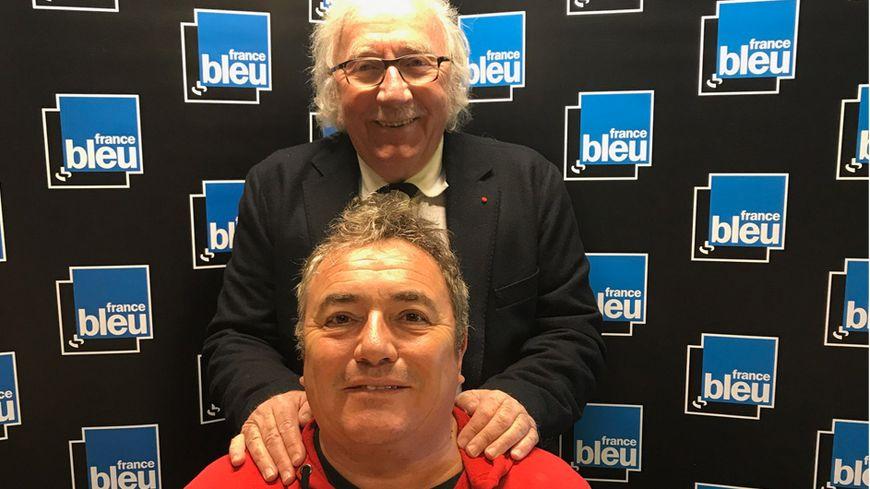 Fabien Onteniente aux côtés de Jacques Vendroux