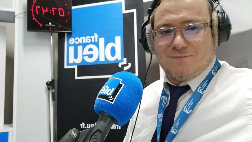 Nissim Sultan est le rabbin de Grenoble.