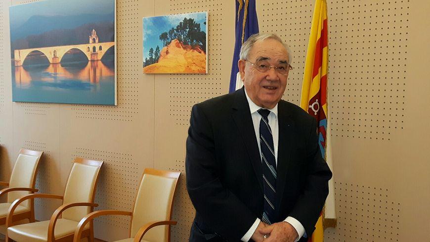 Maurice Chabert président du Conseil départemental de Vaucluse