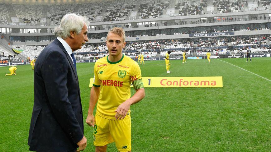 Au match aller, pour le premier match de Vahid Halilhodžić sur le banc du FC Nantes, les Girondins de Bordeaux s'étaient imposés 3-1.