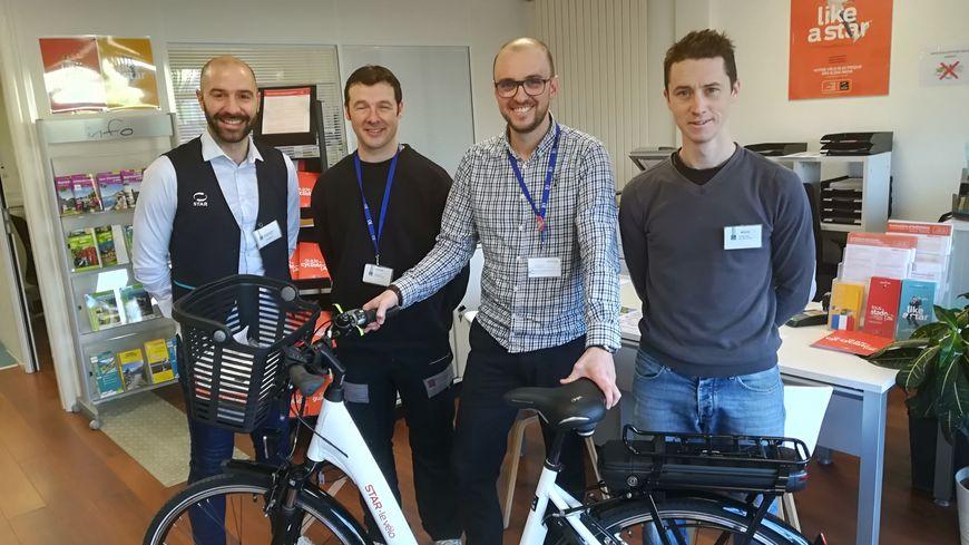Pour Damien Goualou, chef de projet au service vélo de Kéolis, l'idéal serait de développer l'usage du vélo dans la périphérie de Rennes.