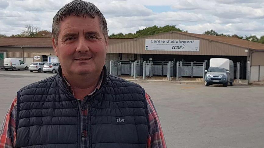 Philippe Chazette, de l'association d'éleveurs Interbev